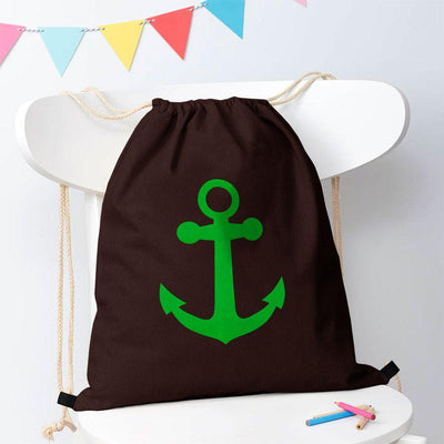 Polo Republica Ship Langar Drawstring Bag Drawstring Bag Polo Republica Coffee Green