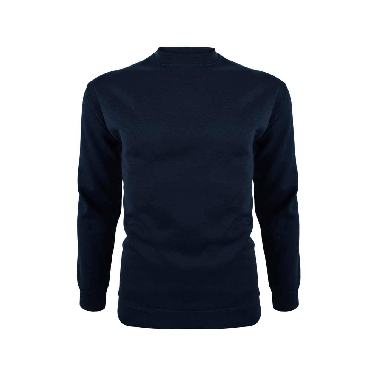 DCK B Quality Crew Neck Sweat Shirt B Quality Image Navy S