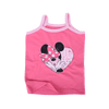 Disney Heart Printed Strappy Tank Top - ExportLeftovers.com