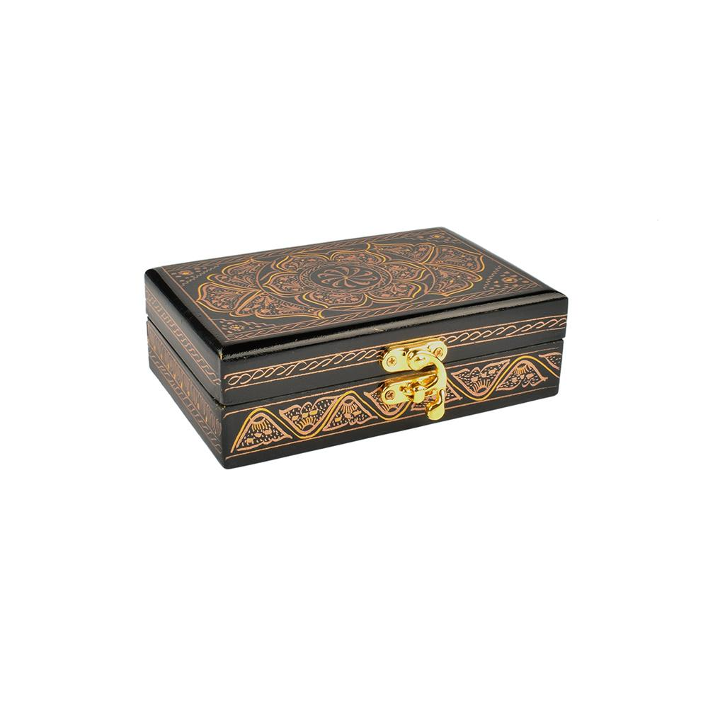 Samobor Designs One Piece Jewelry Box Jewellery SAK Golden