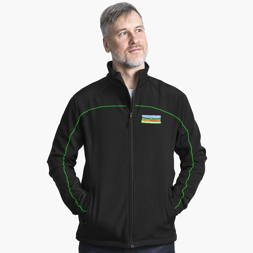 FMF Quezon Soft Shell Jacket Men's Jacket Image Black S