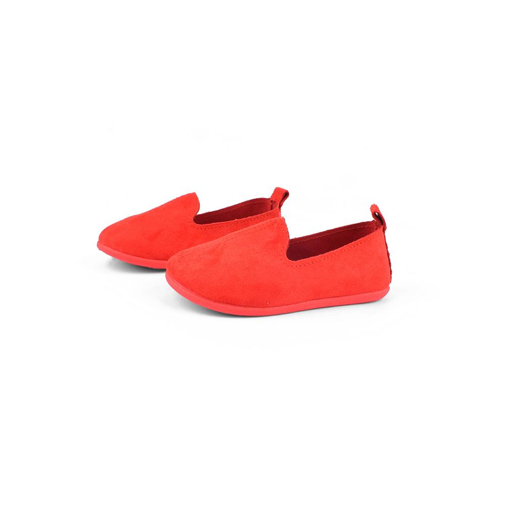 Hblhang Suede Fabric Soft Sole Kids Shoes Boy's Shoes Sunshine China Red EUR 19