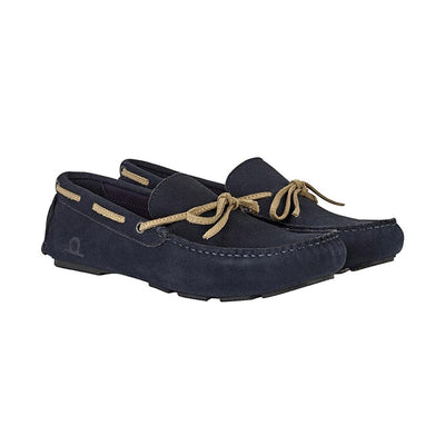 CHATHAM Riley II Men's Navy Suede Moccasin Driving Shoes Men's Shoes MB Traders EUR 40