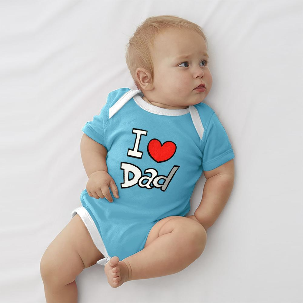 Polo Republica Dad's Lover Pique Baby Romper