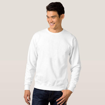 Paramount Blank B Quality Classic Sweat Shirt B Quality Image White S