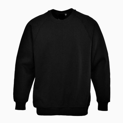 PRT Roma B300 B Quality Sweat Shirt B Quality Image Black 3XL