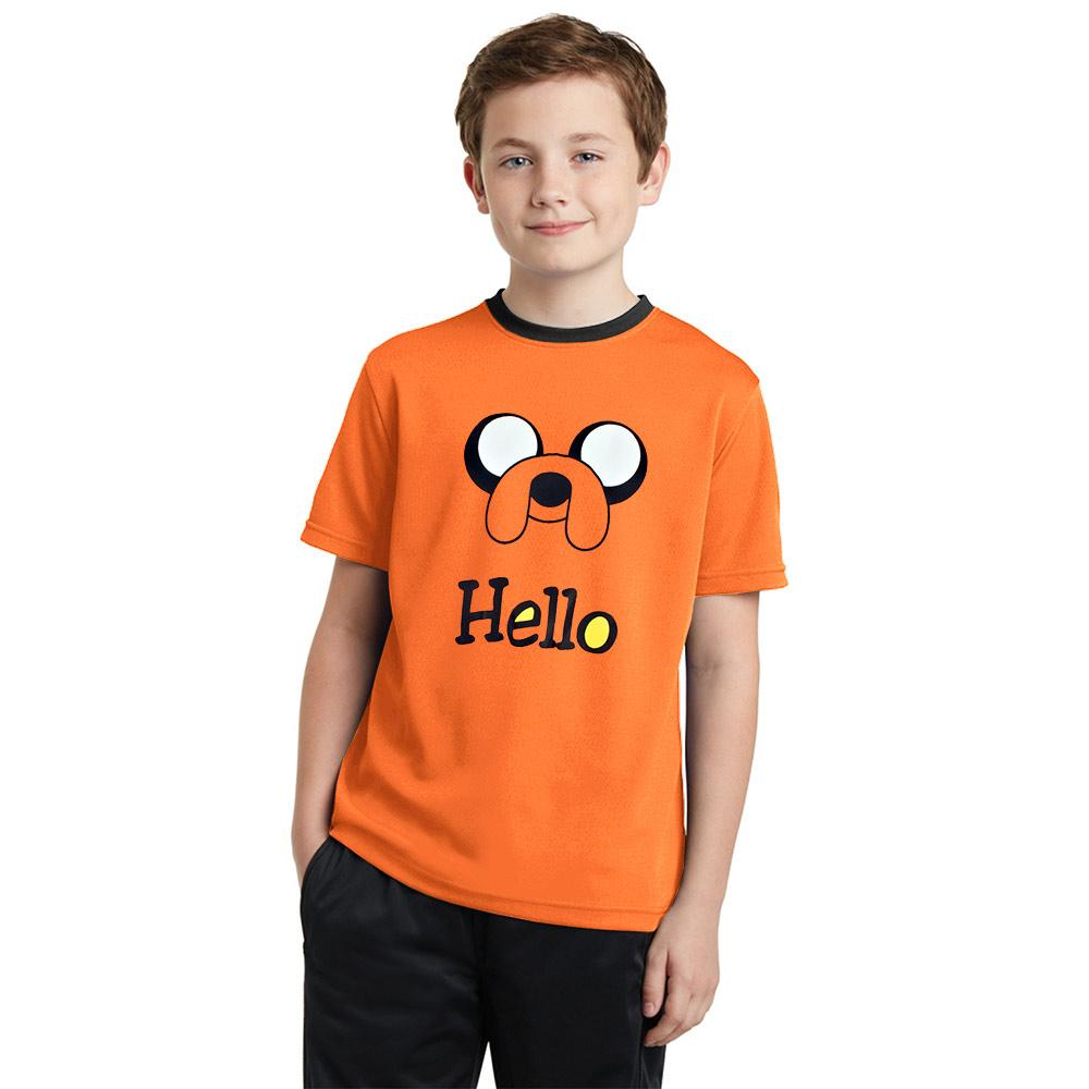 Polo Republica Hello Mexicali Ringer Tee Shirt Boy's Tee Shirt Polo Republica Orange 2 Years