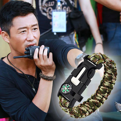 Paracord Survival Bracelet Men's Accessories Sunshine China