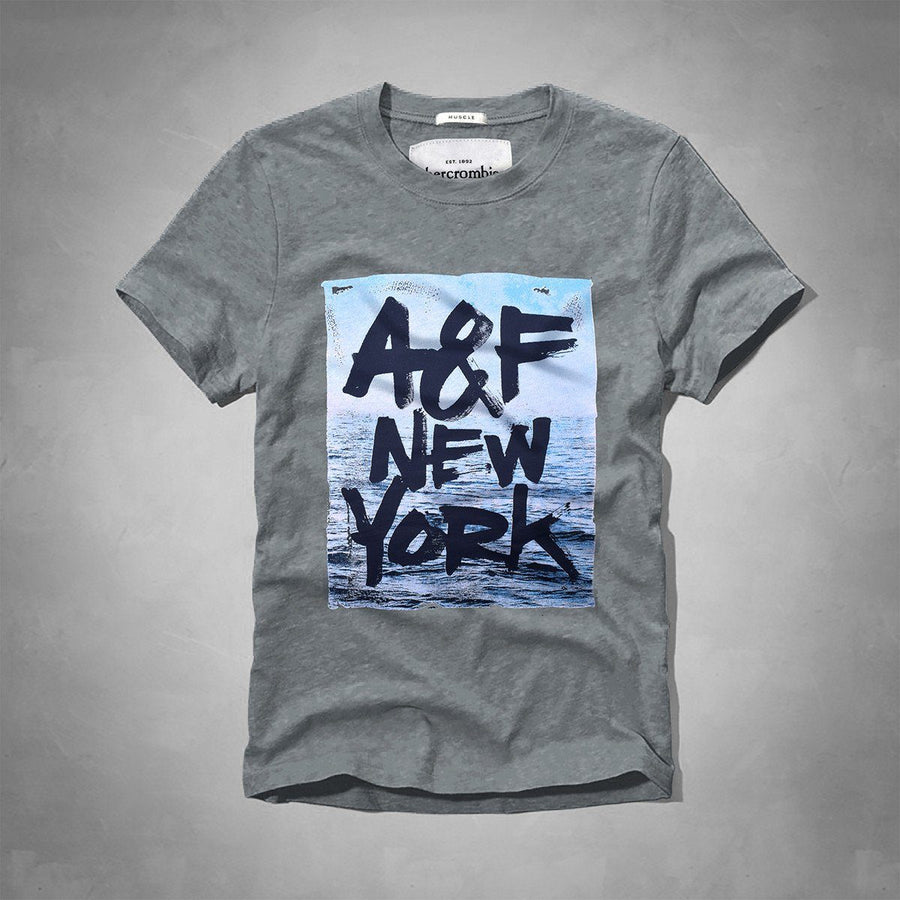 Abercrombie & Fitch NY Short Sleeve Tee Shirt