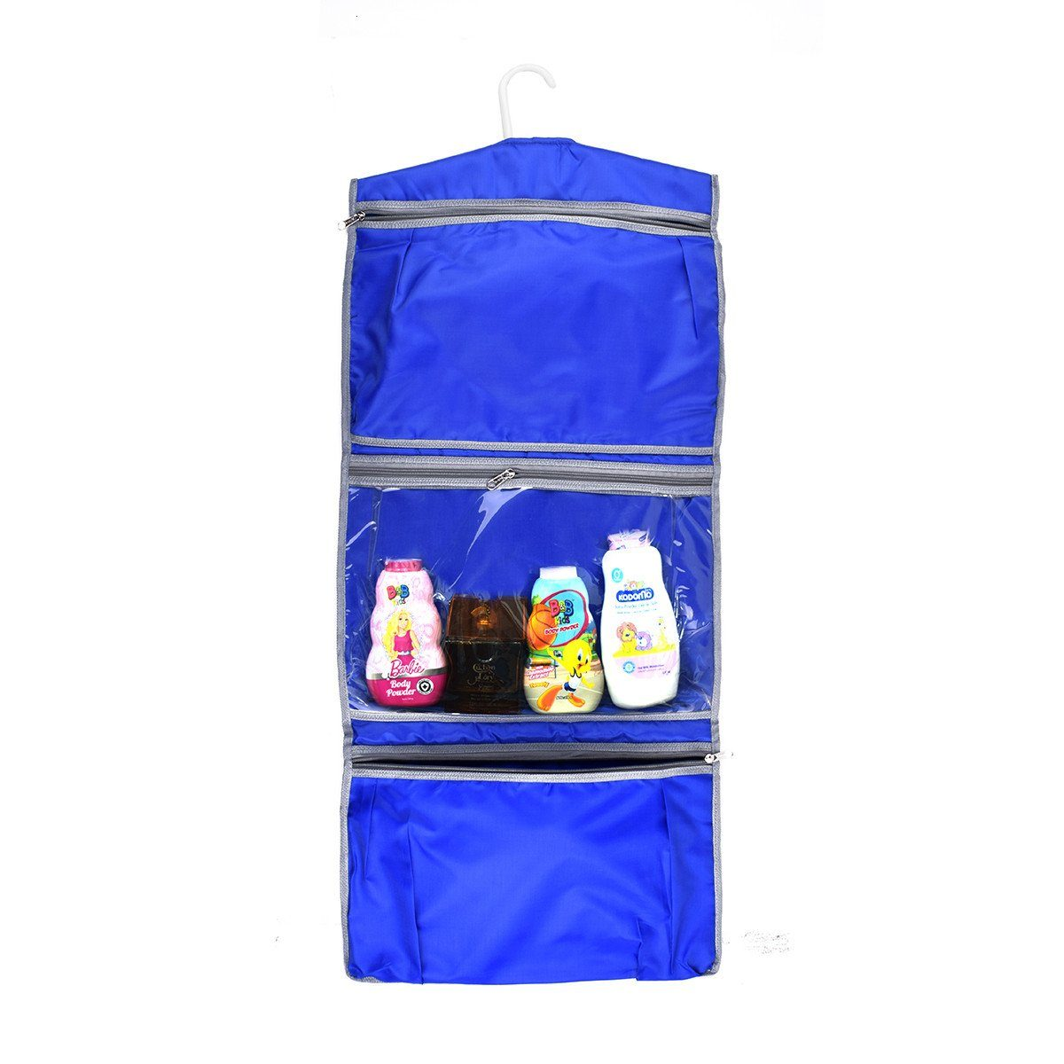 Three Pocket Hanging Toiletry Travel Bag Storage Bag SAK