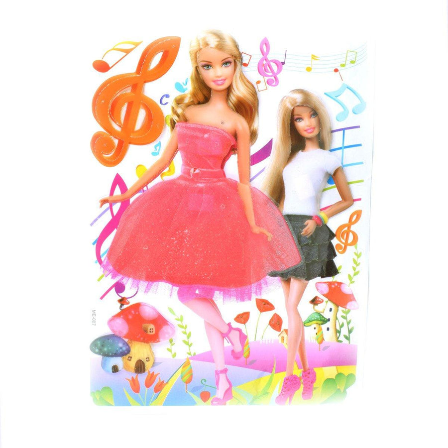 Kid's Room Home Princess 3D Wall Stickers - ExportLeftovers.com