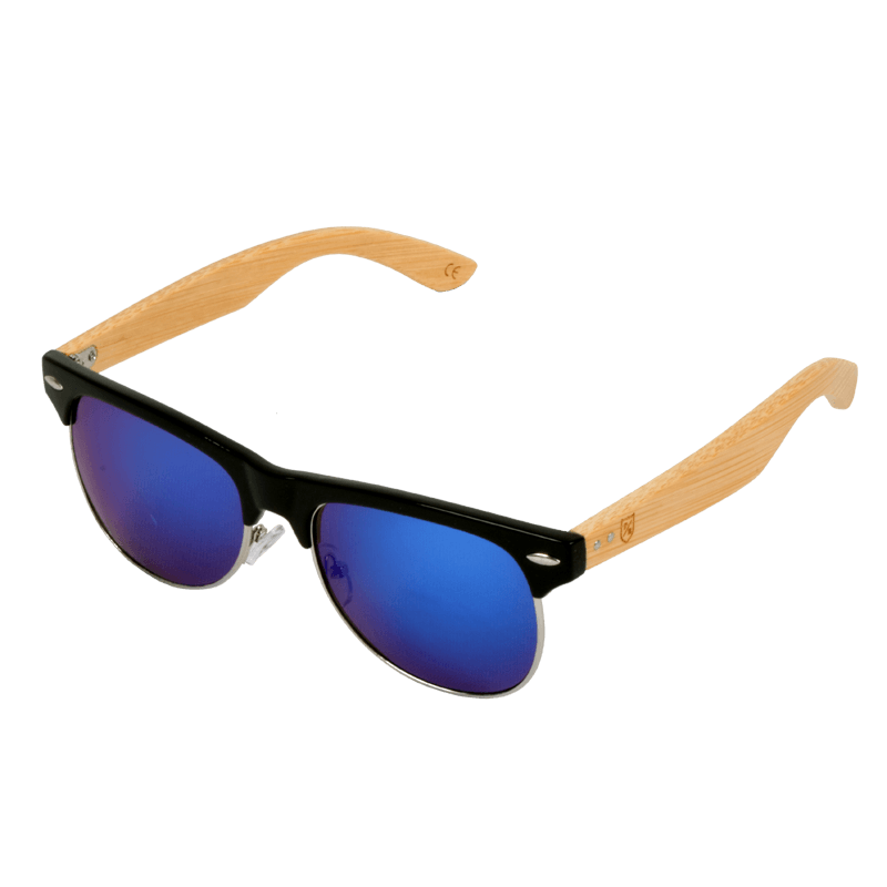 Polo Republica (1029MB-4) Afulies Bamboo Temple Sunglasses - ExportLeftovers.com