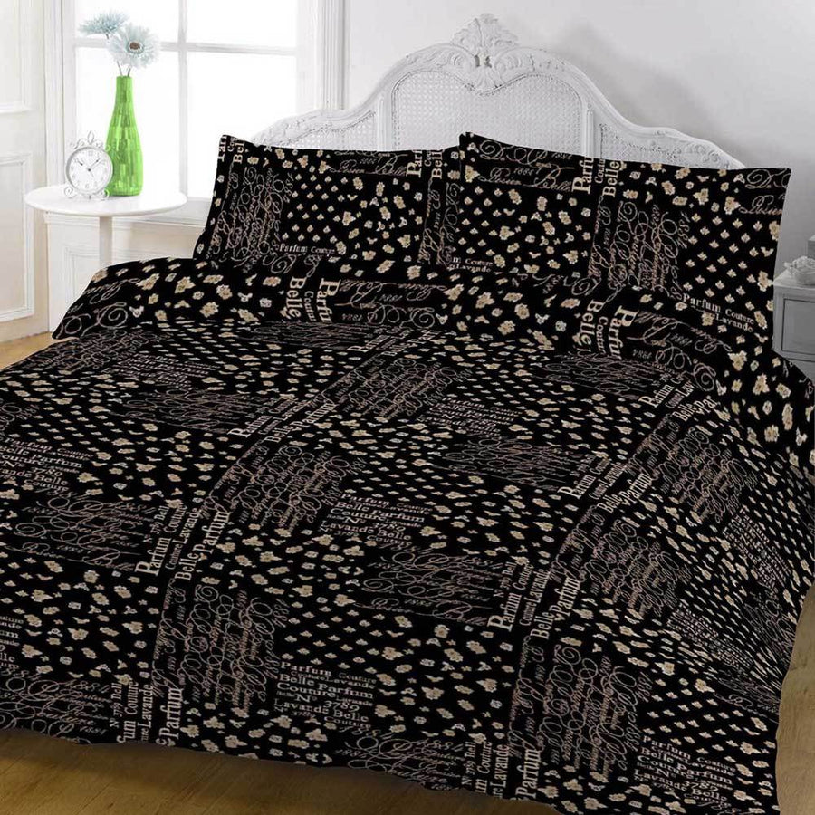 ARC Samooda Alphabets King Bed Sheet Set