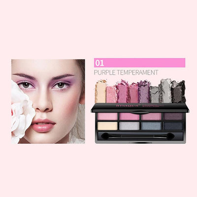 One Spring Eight Color Bright And Charming Eye Shadow Health & Beauty Sunshine China 01