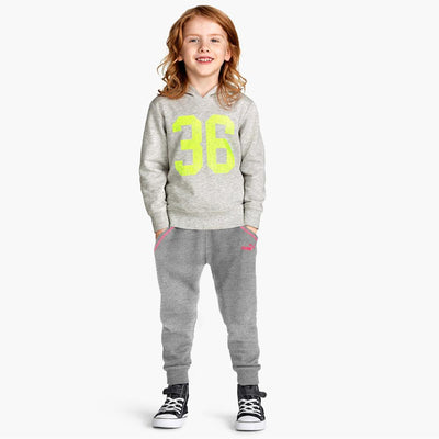 PMA Girl's Hooris Fleece Joggers Girl's Trousers First Choice