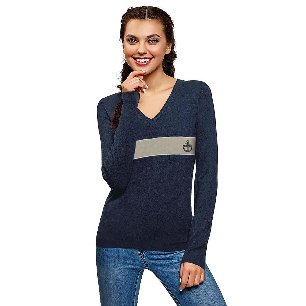 Women's First Smart Royal Navy Sweat Shirt Women's Sweat Shirt AGZ S