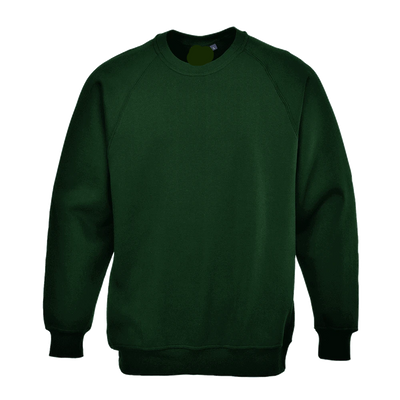 PRT Roma B300 B Quality Sweat Shirt B Quality Image Bottle Green XL