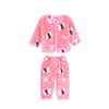 Boy's Cola Oubeilong Two Piece Pink Suit Set - ExportLeftovers.com