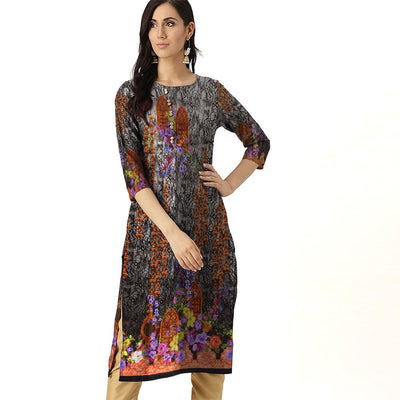 Digital Printed Rensselaer Unstitched Lawn Kurti