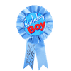 SK Light Blue Birthday Boy Ribbon Badge - ExportLeftovers.com