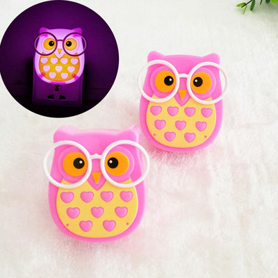 Owl Night Light Auto Control Sensor Lamp General Accessories Sunshine China