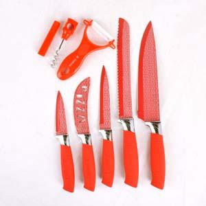 Kitchen King Professional Antibacterial Knife Set - ExportLeftovers.com