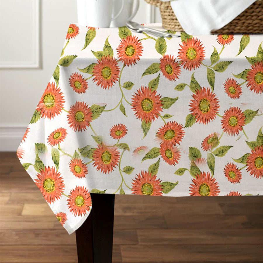 Home Linea Mediterranea Girasoli Tablecloth - ExportLeftovers.com