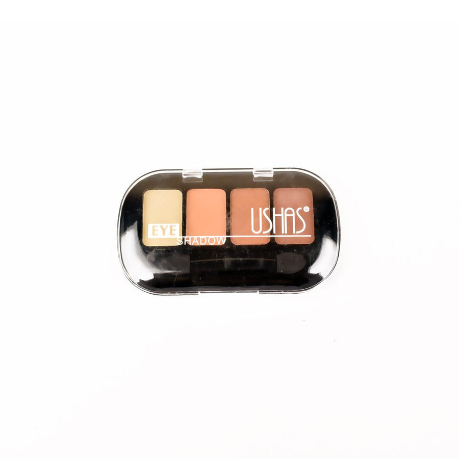 Ushas Matte Four Shades Eyeshadow Case