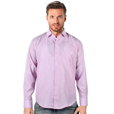 Echo Wide Lining Long Sleeve Formal Shirt Men's Formal Shirts YRA S