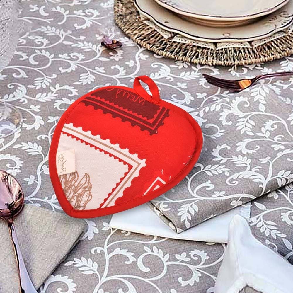 Preziosa Home Heart Shape Pot Holder Crockery MB Traders