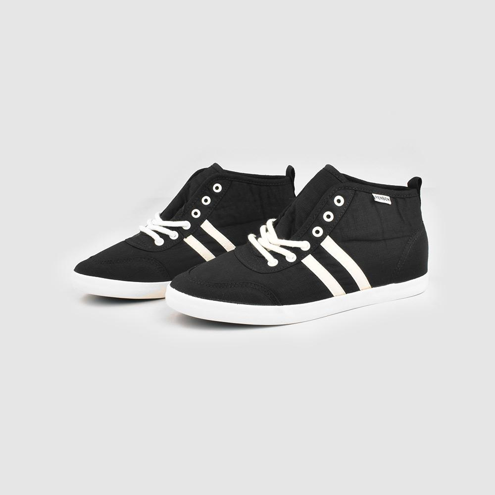 RNB Focsani Women's Canvas Sneakers Women's Shoes Sunshine China Black White EUR 35