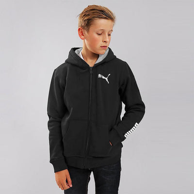 PMA Printed Boys Terry Zipper Hoodie Boy's Zipper Hoodie Fiza Black 4 Years