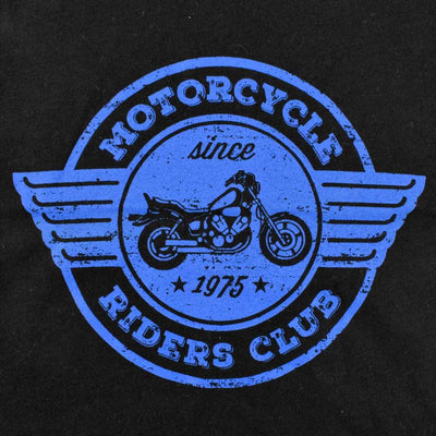 HM Motor Cycle Ride Club EST 1975 Kids Tee Shirt Boy's Tee Shirt First Choice
