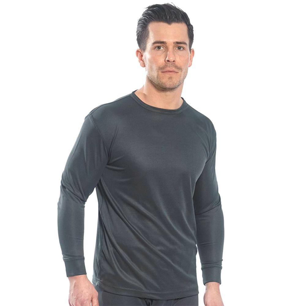 PTW Crew Neck Long Sleeve Base Layer Men's Underwear Image S