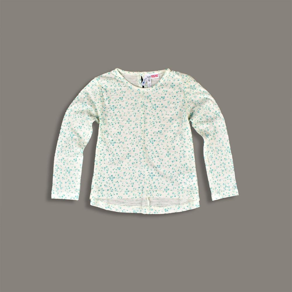 LFT Altena Printed Girls Long Sleeve Tee Shirt Girl's Tee Shirt First Choice 3-6 Months