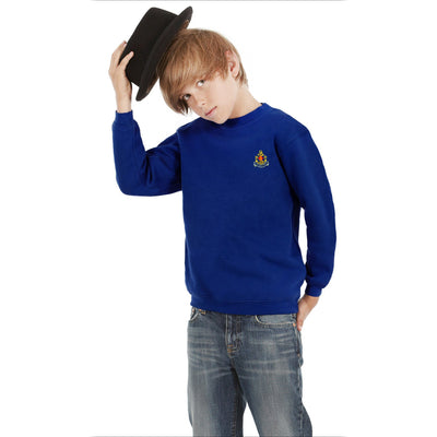 BB Alproso Sweat Shirt Boy's Sweat Shirt Image Royal 15-16 Years(36)