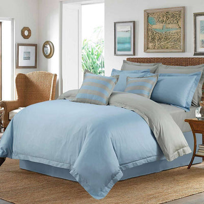 Araish Ice Flow Sateen 6 Pcs Bedding Set
