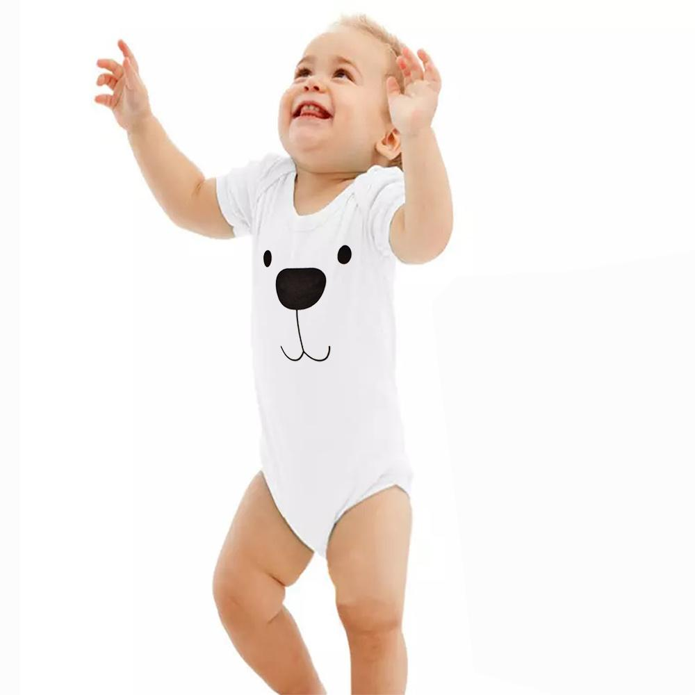 Polo Republica Belovo Baby Romper Babywear Polo Republica White White 0-3 Months