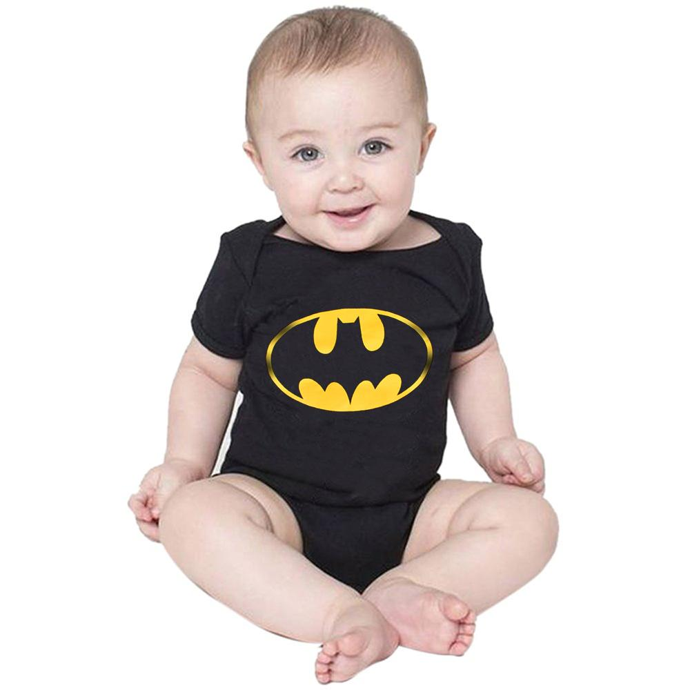 Polo Republica Batman Baby Romper Babywear Polo Republica Black Black 0-3 Months