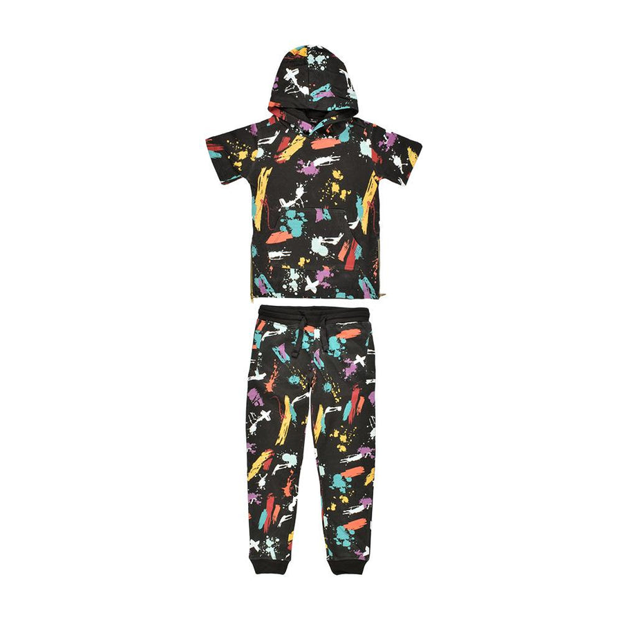 Panyc Cadwell Short Sleeve Track Suit