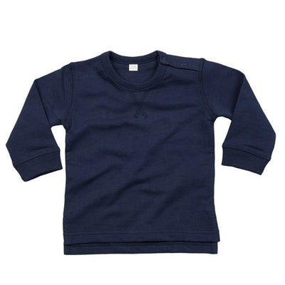 Trence Classic Sweat Shirt Boy's Sweat Shirt Image Navy 6-12 Months