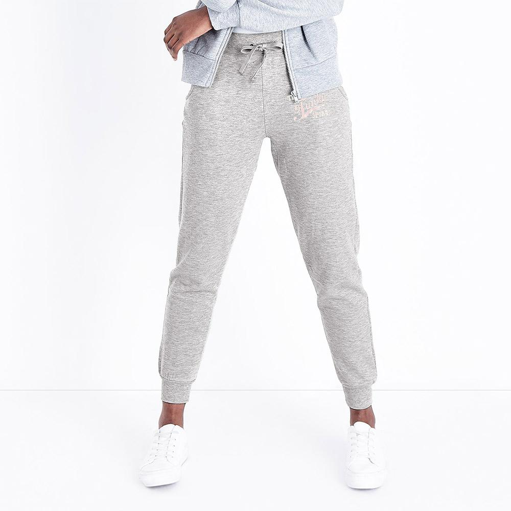 Infinity Team Funky Sports Terry Jogger Pants Women's Trousers Fiza Silver Marl XS