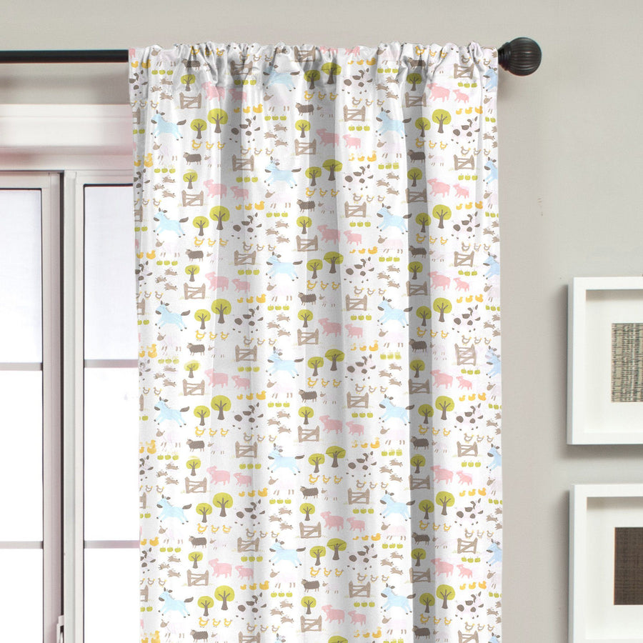 Little Home and Gardens ( S ) Sheeps Pocket Curtain - ExportLeftovers.com