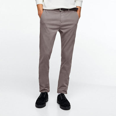 ZR Sport Masdour Skinny Grey Chino Pants Men's Chino IBC 29 30