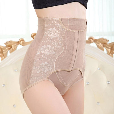 High Waist Tummy Control Body Shaper Slimming Briefs Women's lingerie Sunshine China Skin XL