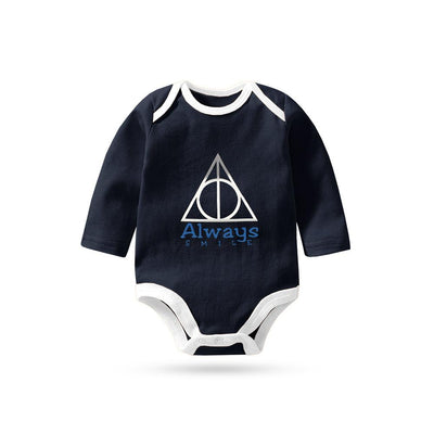 Polo Republica Always Smile Long Sleeve Baby Romper Babywear Polo Republica 0-3 Months