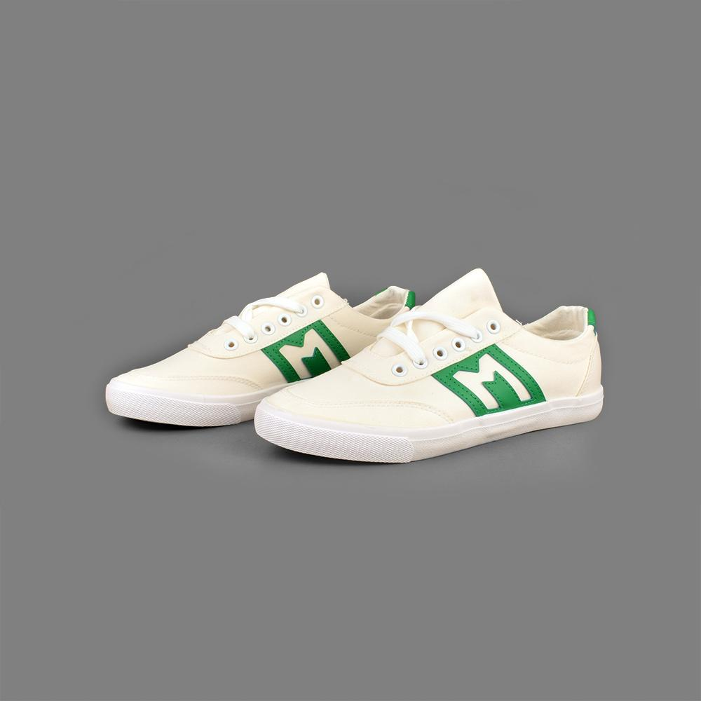 1c3407ae0764 GBA Men s Azmour Canvas Sneakers Men s Shoes Sunshine China Off White Green  ...