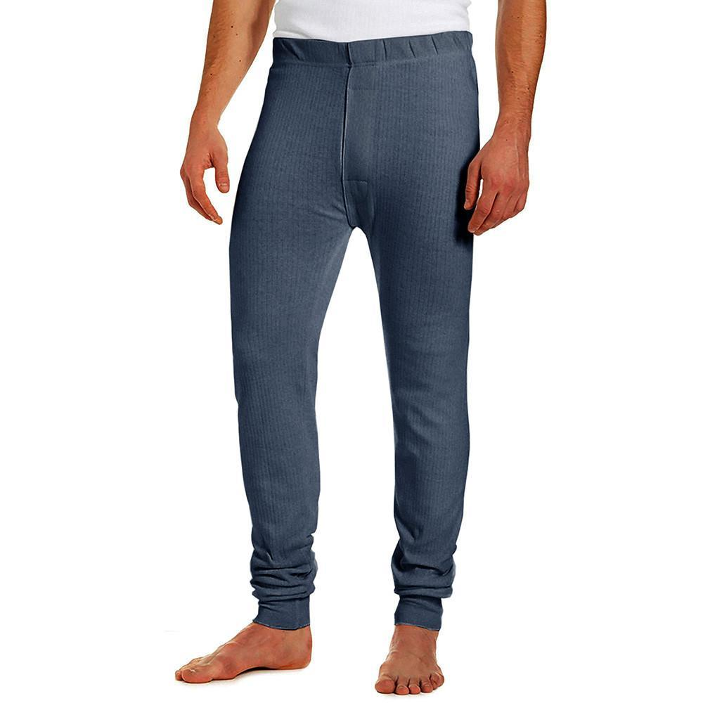RGT Men's Classic Thermal Pants Men's Sweat Pants Image Denim Blue S