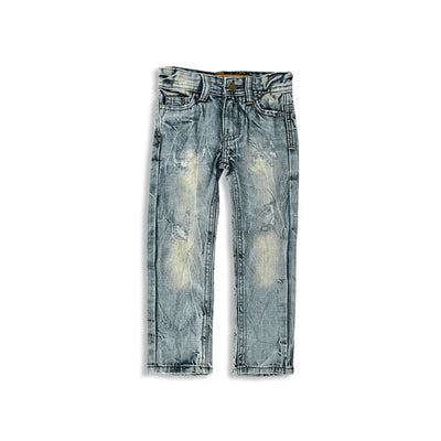 Hydrant Boys Panyu Distressed Straight Fit Denim Boy's Denim First Choice 2T