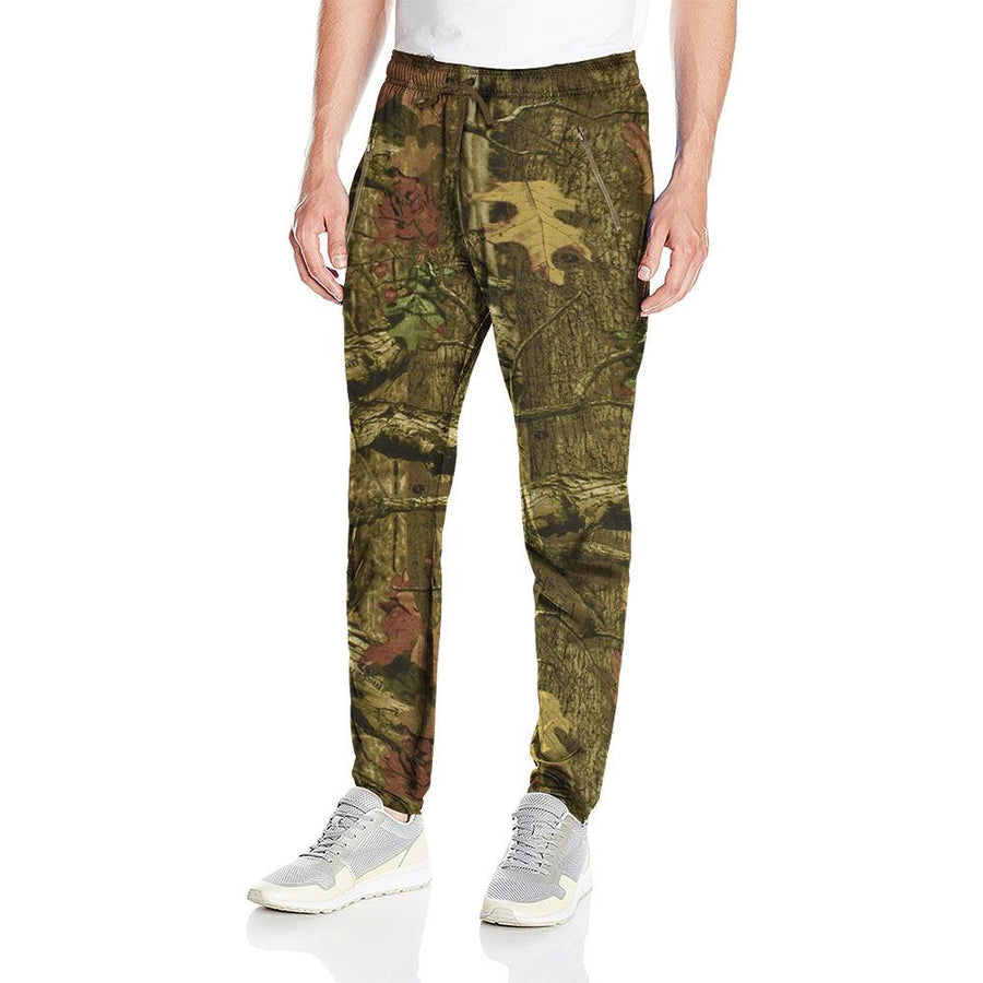 NWL Ivano Army Camouflage Printed Trousers